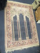 Lot 748 - A prayer rug, 180 x 124cm