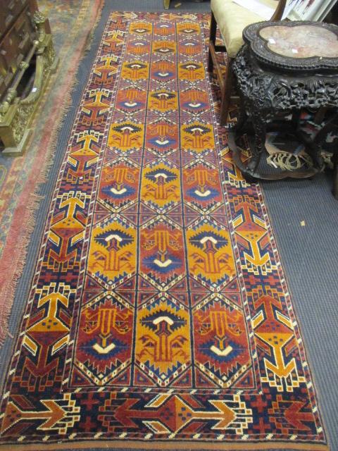 Lot 749 - A Kelim rug, 170 x 125cm and an Ersari runner, 295 x 85cm (2)