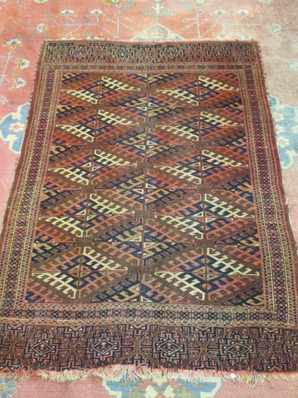 Lot 756 - Two Persian rugs, 287 x 200cm and 187 x 124cm (2)