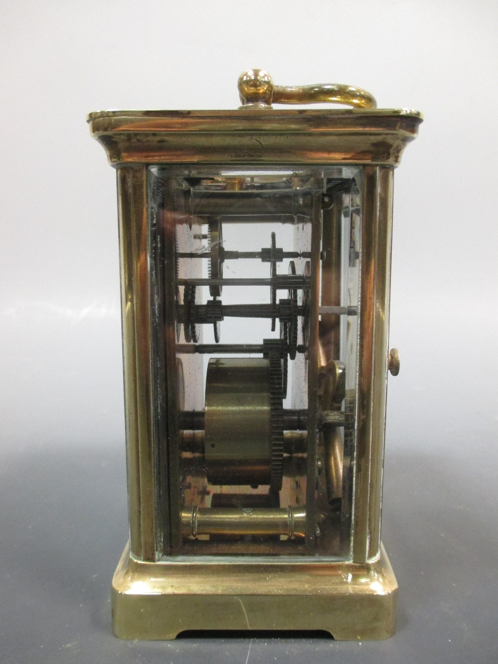 Lot 42 - A carriage timepiece
