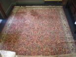 Lot 751 - A large Persian style carpet, 410 x 300cm