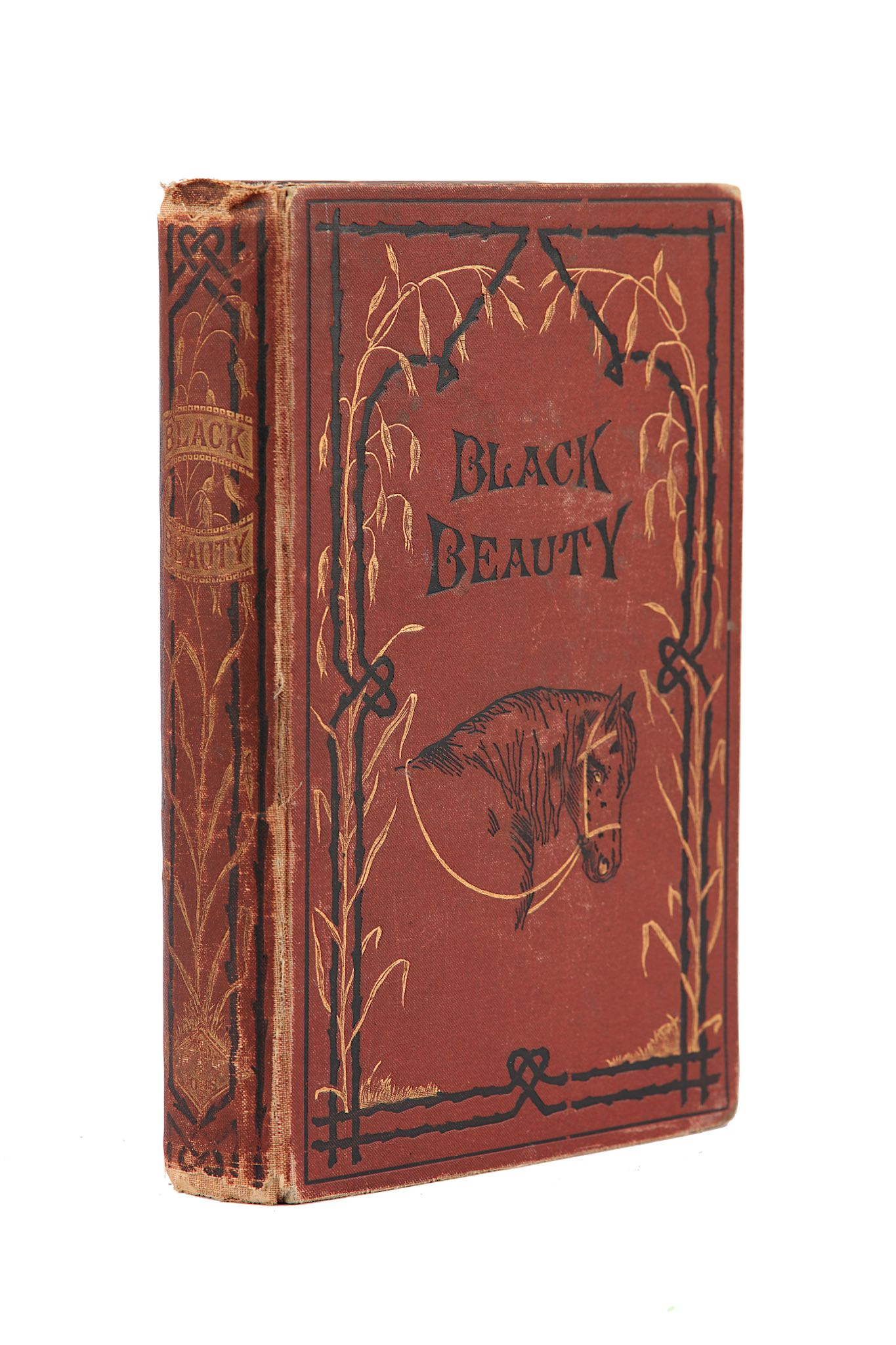 Lot 90 - Sewell (Anna) Black Beauty: His Grooms and Companions. The Autobiography of a Horse. Translated from