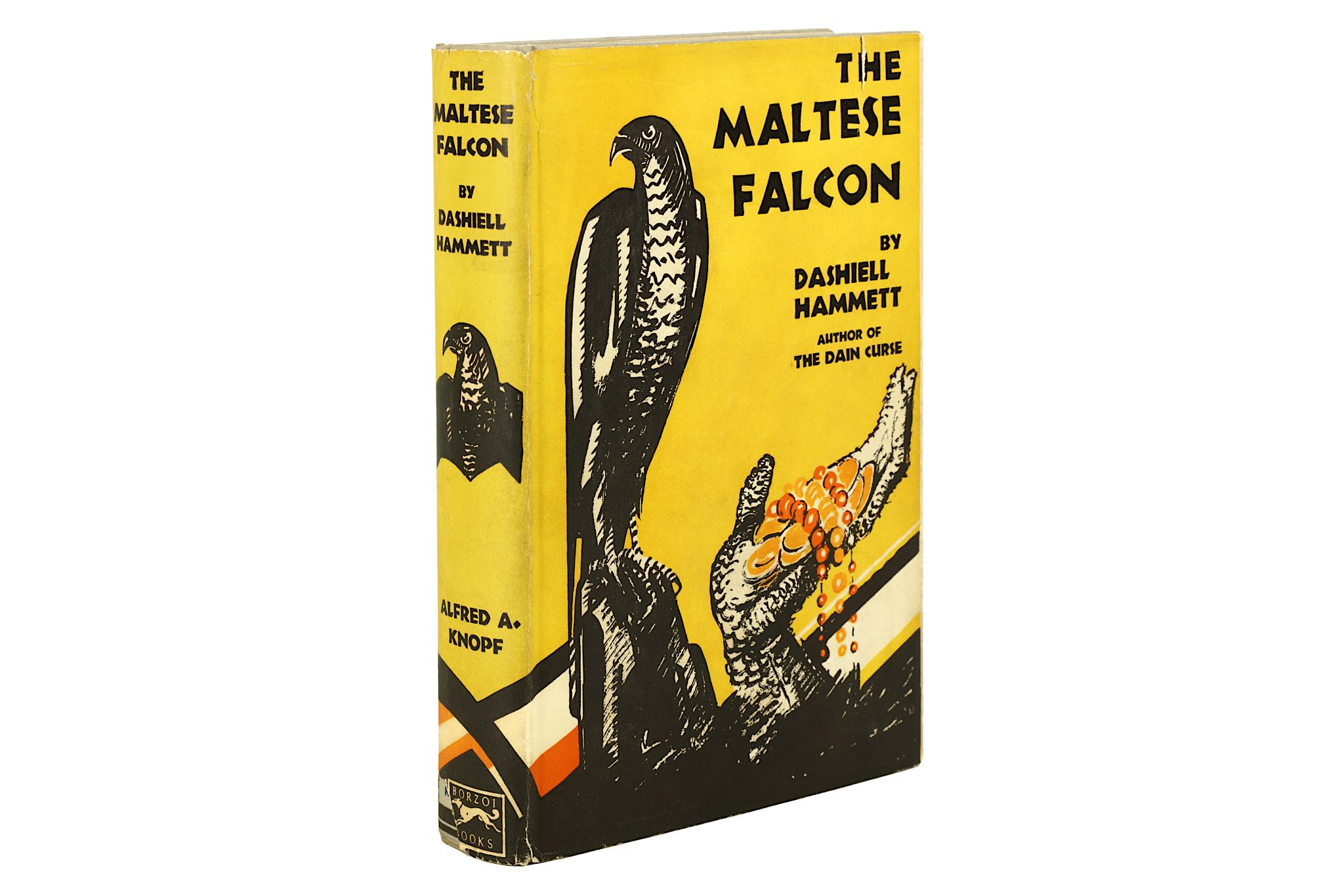 Lot 40 - Hammett (Dashiell) The Maltese Falcon, FIRST EDITION, original decorated cloth, top edge stained