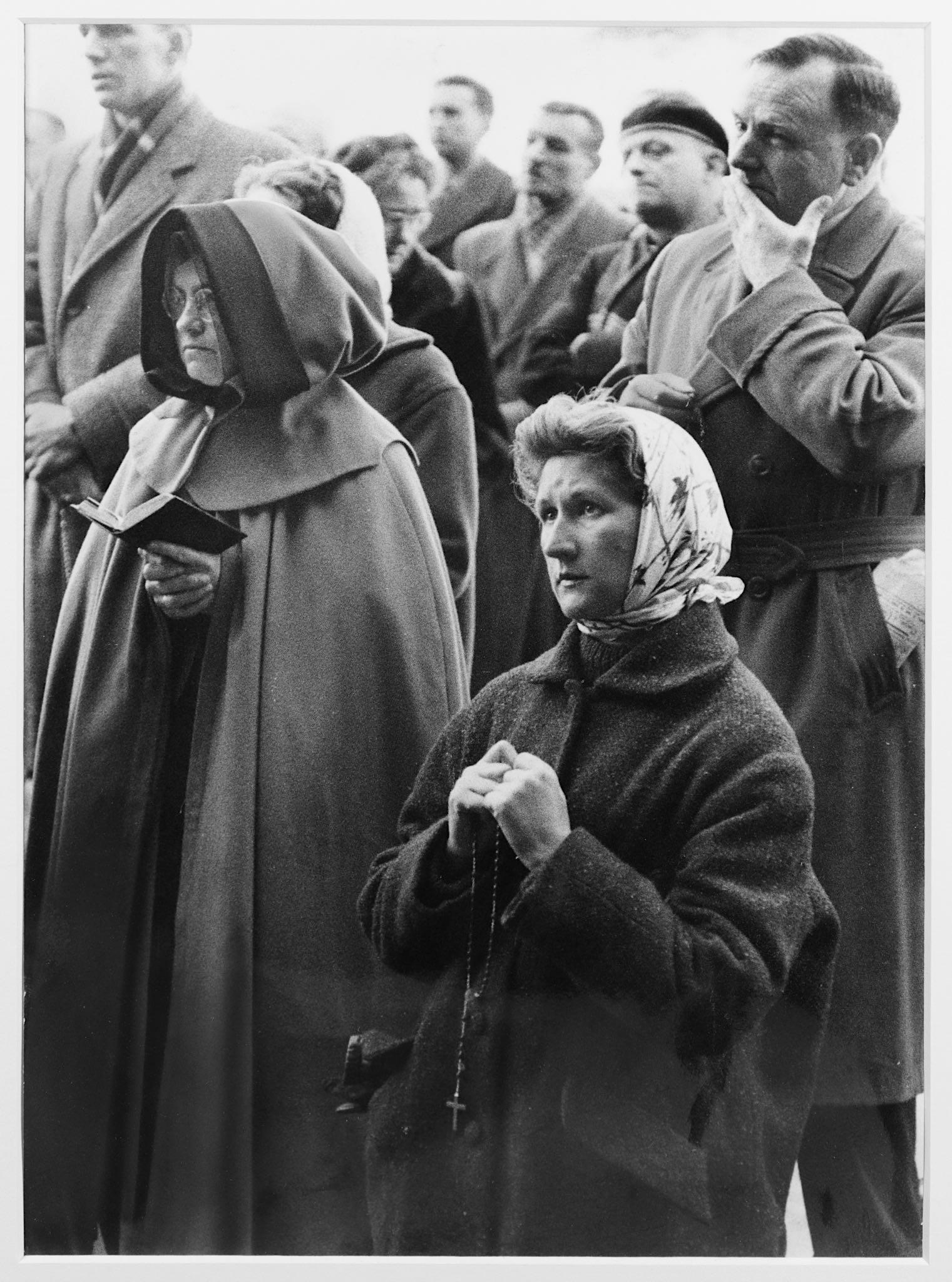 Lot 135 - Cartier-Bresson (Henri) 'Loudres – Pilgrims Assemb