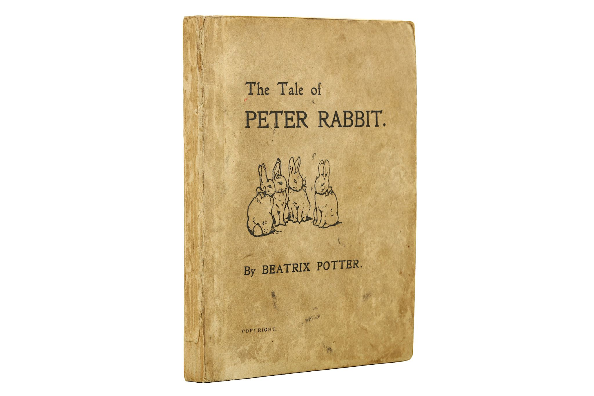 Lot 155 - Potter (Beatrix) The Tale of Peter Rabbit, FIRST E