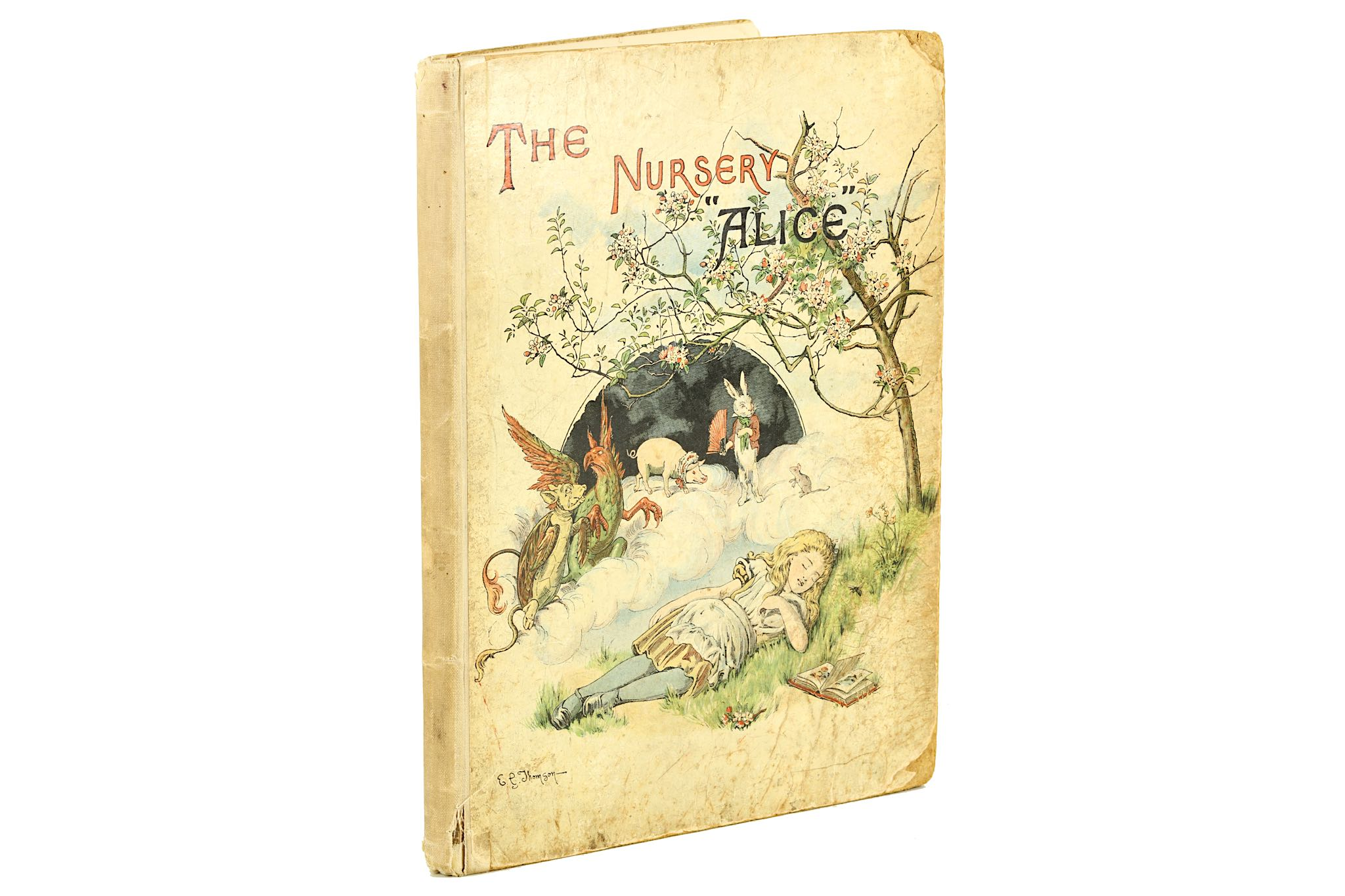 Lot 140 - Carroll, Lewis [Dodgson, Charles Lutwidge] The Nursery Alice, FIRST EDITION, inscribed 'Marie Van de