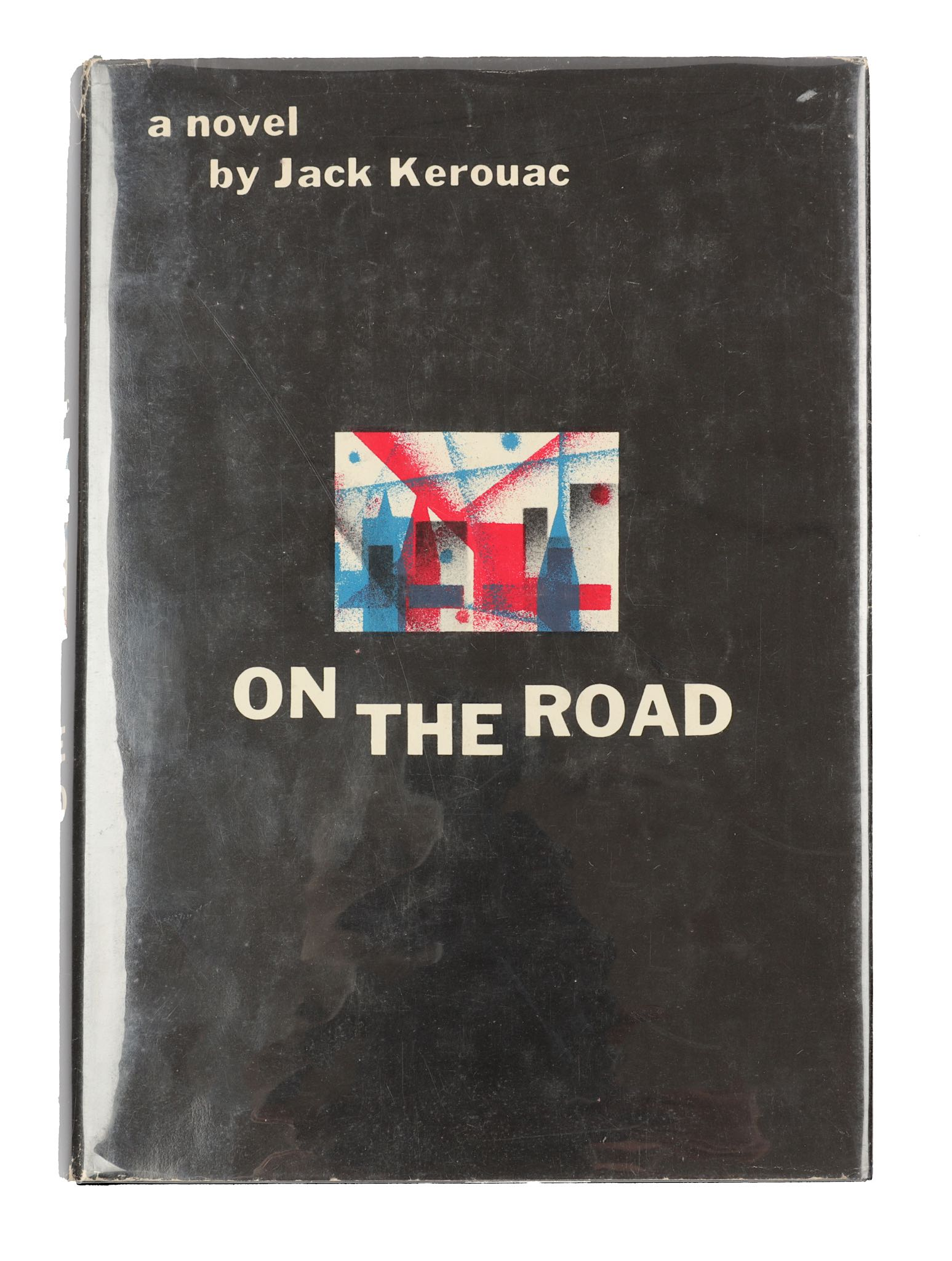 Lot 57 - Kerouac (Jack) On the Road, FIRST EDITION, bookplate, original black cloth, white lettering, top