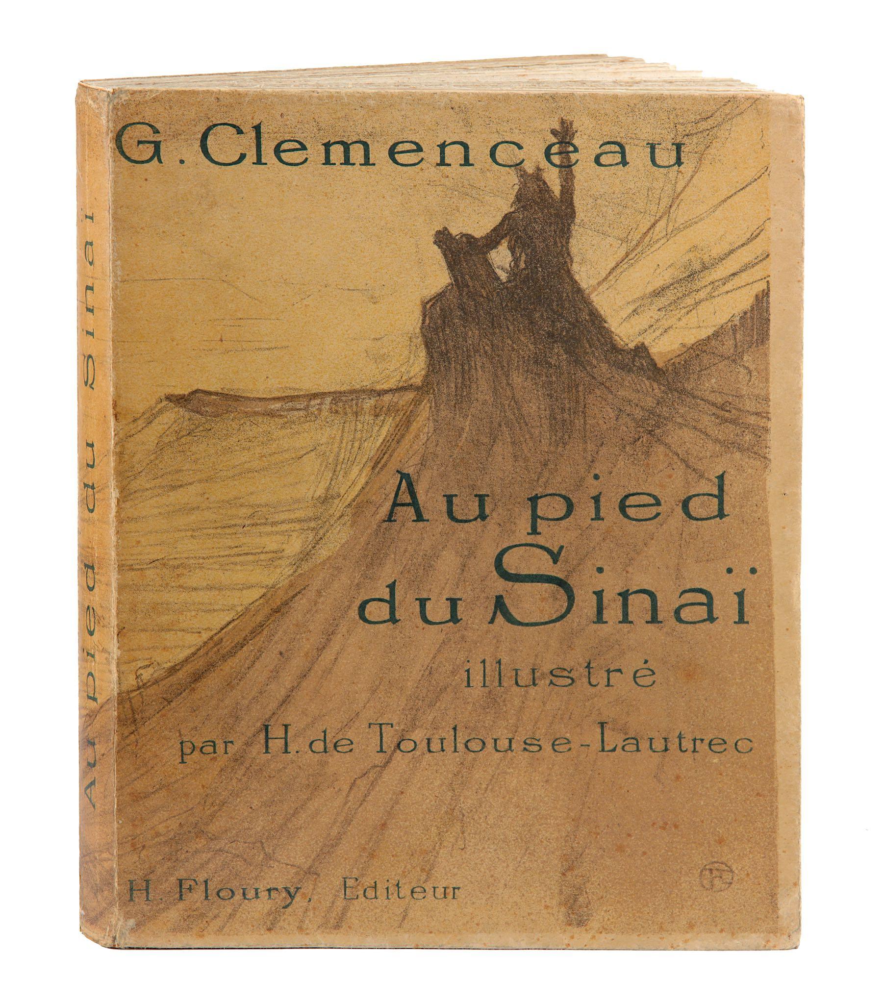 Lot 223 - Toulouse-Lautrec (Henri de).- Clemenceau(Georges