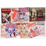 Cartoon Art of Glasgow + (1940s-50s). Four Deuces nn, Hubba-Hubba nn, Kracker 5, Super-Duper 9 [gd],