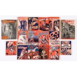 Dixon Hawke Library (1937-41 D C Thomson) 452 [gd], 490, 495, 497, 508, 514, 515, 518, 538, 546,