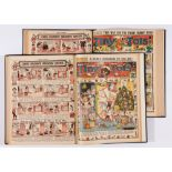 Tiny Tots (1934, 1936) 325-376, 429-480. Two complete years in 2 bound volumes [vfn] (104)