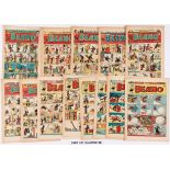 Beano (1950) 390-441. Complete year starring Jack Flash, Jimmy and his Magic Patch, Deep Sea Danny's