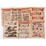 Comet (1946) 2-9 with (1950) 87-101 Jan-Jun half year bound volume. Starring Buffalo Bill, Buck