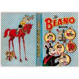 Beano Book (1952) Biffo pins up his Pals. Bright boards and spine, medium wear, two neat