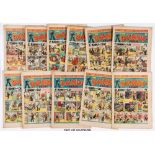 Dandy (1945) 283-307. Near complete year (missing 293, 295, 299, 301, 308). Including April Fool,