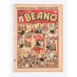Beano 74 (1939) Xmas Number. Propaganda war issue. Daddy Neptune spikes Hitler. Wild Boy of the