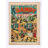 Dandy No 11 (1938). Good colours, some general margin grubbiness [gd]