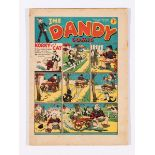 Dandy Comic No 45 (1938). Bright covers, light tan pages [fn-]