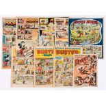 Mickey Mouse/Weekly (1938-49) 130 [vg] 11.1.'49, 6.9.'47, 7.2.'48, 2.4.'49 with Rocket Comic 2 and