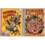 Funnies Albums (1948, 1949) G G Swan. Fully illustrated. Starring Tough Guy, Mickey's Magic