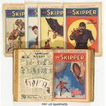Skipper (1930-38) 7, 10, 14, 16, 49, 51, 61, 69, 142, 153-158, 160-162, 168-172 (Xmas 1933), 173,