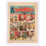 Dandy Comic No 41 (1938). Bright covers with two chips to corners, cream/light tan pages [fn-]