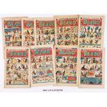 Beano (1949) 353, 356, 357, 359 Easter [vg-], 361-363, 367, 370-372, 374-376, 379, 380, 381