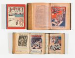 Lot 6 - Nelson Lee Library (1920) 237-249, (1922-23) 389-414. With Boy's Magazine (1927-28) 287-312. Three