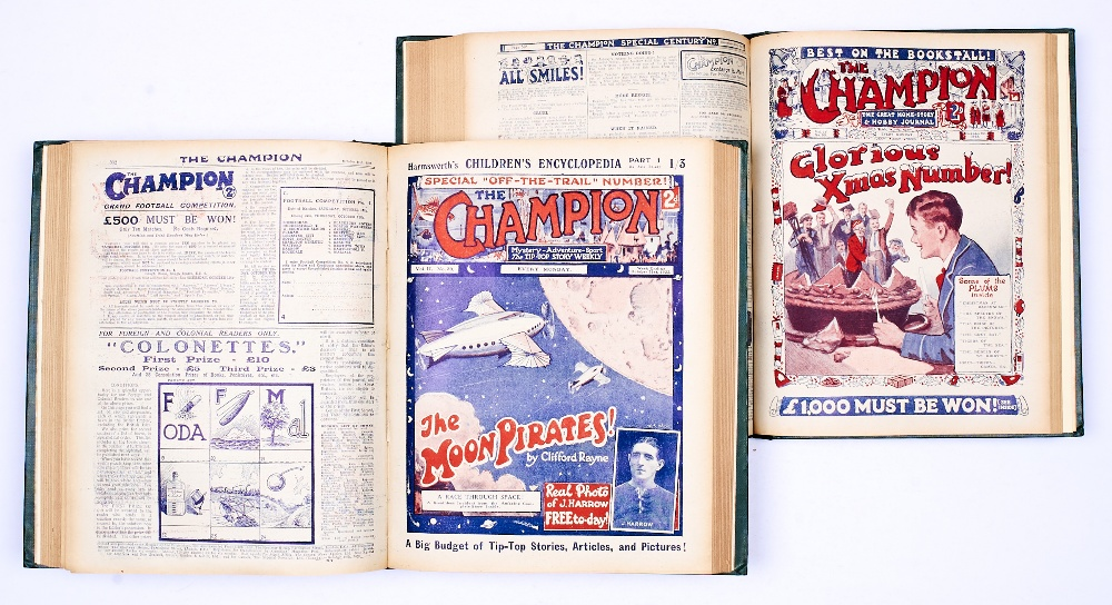 Lot 13 - Champion (1922-23) 27-52. With (1923-24) 79-104. In two bound volumes [fn/vfn] (52)