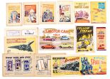 Lot 32 - Story Paper Giveaways (1930s-60s). Adventure Thrill Books 1-4, Bright Boys Album of Motor Cars (