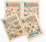 Lot 44 - Dandy (1939) 88, 92, 94, 96. Nos 88 [gd+], 92 [gd], 94, 96 [vg-] (4). No Reserve