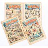 Dandy (1939) 88, 92, 94, 96. Nos 88 [gd+], 92 [gd], 94, 96 [vg-] (4). No Reserve