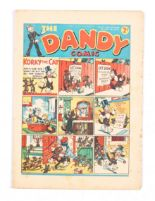 Lot 40 - Dandy 41 (1938). Bright cover, clean, cream pages. Some small cover overhang wear [fn-]