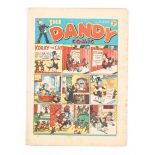 Dandy 41 (1938). Bright cover, clean, cream pages. Some small cover overhang wear [fn-]