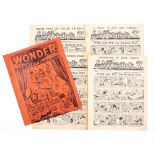 The Wonder Packet of English Comics (1939 A. Soloway). Containing Comic Adventures 1-4, The Wrap