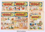 Lot 134 - WHAM! (1965-68) 120-132 Xmas, 146-152, 155, 156, 174, 175, 177, 186, 187. Starring Frankie Stein