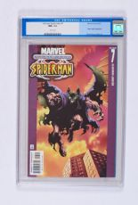 Lot 445 - Ultimate Spider-Man 7 (2001). CGC 9.6. White pages. No Reserve