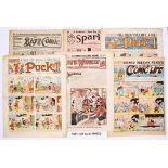 Propaganda WWI issues (1914-18). Sparks No 1, Big Comic Nos 1-3, 140, 153, 211-213, Boy's Weekly