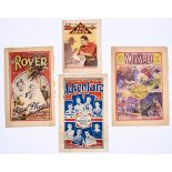 D.C. Thomson firsts: Adventure 1 (1921), Rover 1 (1922), Wizard 1 (1922), Red Arrow 1 (1932).