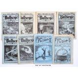 Bullseye (1931-34) 17, 21, 24, 35, 39, 44 [fr], 54, 55, 57, 58, 61, 64, 67, 70, 71, 74, 76-78, 82,