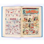 Dandy (1948) 360-385. Complete year, published fortnightly. In bound volume. Danny Longlegs and