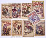 Lot 5 - Buffalo Bill (1890s Aldine O'er Land and Sea Library). 124, 129, 131, 187, 210, 283. With Buffalo