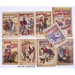 Buffalo Bill (1890s Aldine O'er Land and Sea Library). 124, 129, 131, 187, 210, 283. With Buffalo