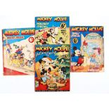 Mickey Mouse Holiday Specials (1936-39) 1-4. 69 pg specials starring Mickey, Donald and the Disney