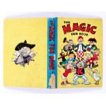 Magic Fun Book 2 (1942). Koko supports his Magic characters. Bright boards and spine with 2 ins