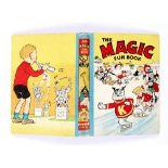 Magic Fun Book 1 (1941) Koko leads his Magic Fun skaters. Peter Piper back board illustration by
