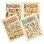 Dandy (1940) 110, 112, 143, 156. Propaganda war issues [gd-/gd] (4). No Reserve