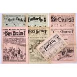 WWI Story Papers (1914). Mostly propaganda war issues comprising Boys' Realm 641, Butterfly 522,