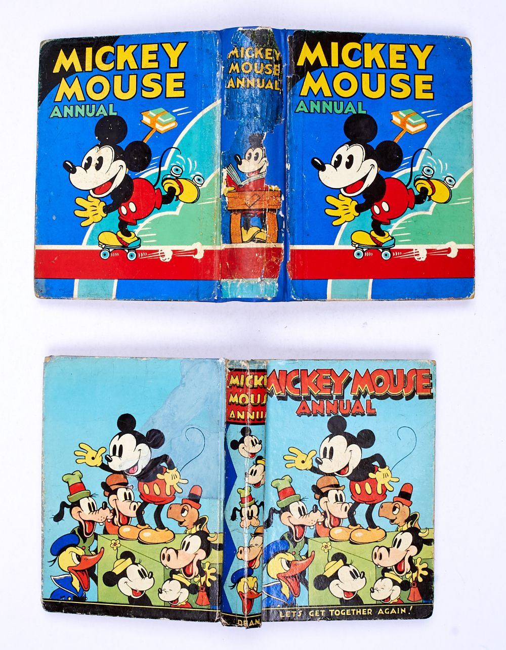 Lot 27 - Mickey Mouse Annual 2 (1931). Professionally reinforced spine with part of original spine