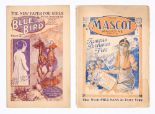 Lot 12 - Blue Bird 1 (1922), Mascot 1 (1921). First issue girls' comics by D.C. Thomson. Mascot with
